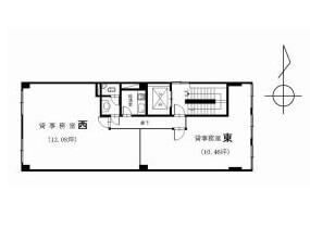 物件間取り図(3階)